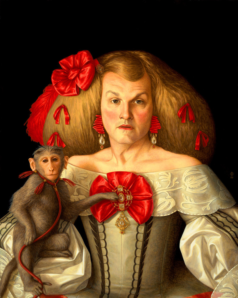 """Infanta,"" acrylic on panel, by Stephen O'Donnell"